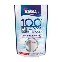 Lessive 100% blanc lave & reblanchit