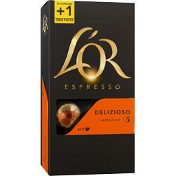 Capsules de café Delizioso