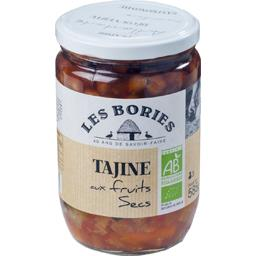 Les Bories Tajine aux fruits secs BIO le bocal de 585 g