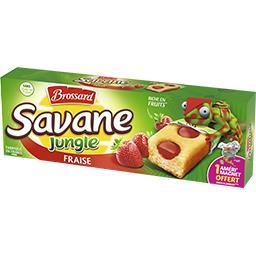 Savane - Gâteaux Jungle fraise