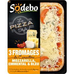 Pizza 3 fromages de caractère - La Pizza Style