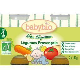 Mes légumes BIO à la  provençale, cuisson vapeur