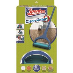Spontex Clean Roller Balai mécanique avec rouleau en silicone