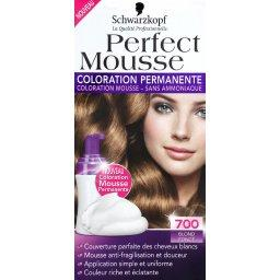 Perfect Mousse - Coloration mousse permanente blond ...