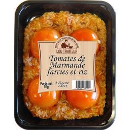 Tomates de Marmande farcies et riz