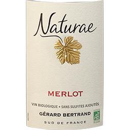 Vin de Pays d'Oc Merlot Naturae BIO, vin rouge