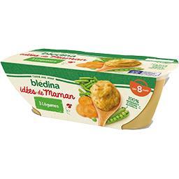 Blédina Blédina Les Idées de Maman - Purée de 3 légumes, dès 8 mois
