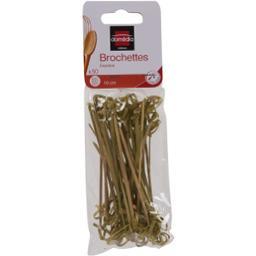 Mini brochettes bambou 10 cm