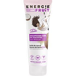Energie Fruit Shampooing coco et beurre de karité BIO le tube de 250 ml