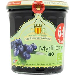 Confiture myrtilles BIO