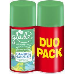 Glade Automatic Spray - Recharge désodorisant Bamboo Garde... les 2 recharges de 269 ml -