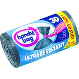 Sacs poubelle ultra-résistants 30 l