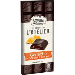 Les Recettes de L'Atelier - Chocolat noir ganache or...