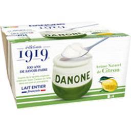Danone Yaourt au lait entier citron