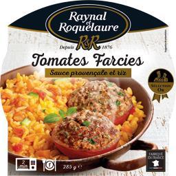 Tomates farcies sauce provençale et riz