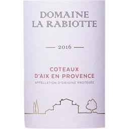 Domaine La Rabiotte Magnum Coteaux d'Aix en Provence, vin rosé, 2016
