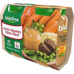 Petits légumes pâtes bœuf, dès 9 mois