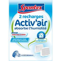 Recharges en sachet pour absorbeur d'humidité