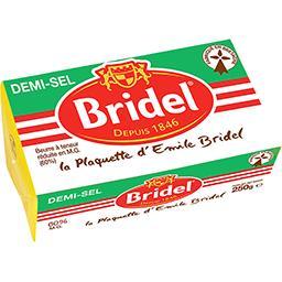 Beurre demi-sel La plaquette d'Emile Bridel