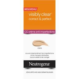 Visibly Clear - CC crème anti-imperfections claire