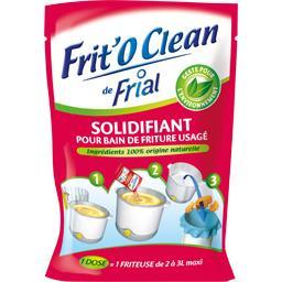 Solidifiant Frit'O Clean pour bain de friture usagé