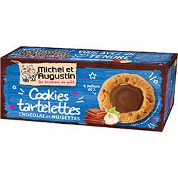 Petit cookies tartines chocolat noisettes