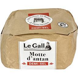 Beurre de Baratte La Motte d'Antan demi-sel