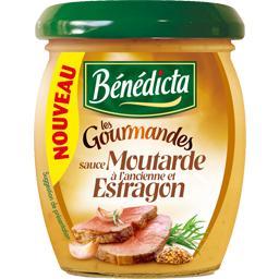 Sauce Les gourmandes moutarde à l'ancienne et estragon