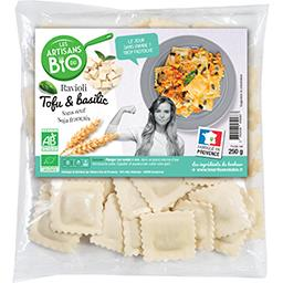 Ravioli tofu basilic recette sans œuf BIO