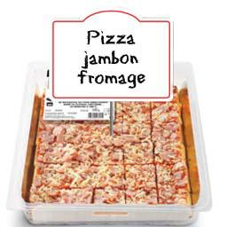 Toasts de pizza jambon fromage