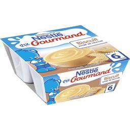 P'tit Gourmand - Dessert biscuit, 6+ mois