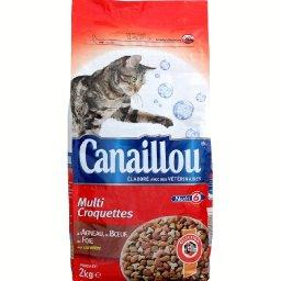 Croquette au bœuf/foie pour chat adulte
