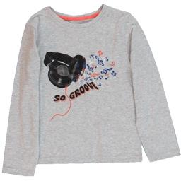 Tee-shirt gris garçon taille 6 ans