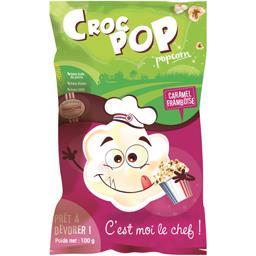 Croc Pop Pop corn carmel framboise le paquet de 90 g