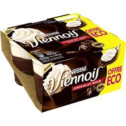 Le Viennois - Dessert lacté chocolat noir