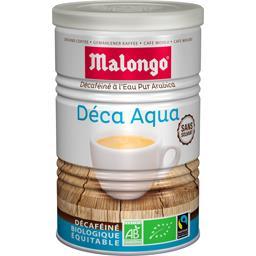 Café moulu décaféiné Deca Aqua BIO