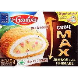 Croq Max jambon de dinde fromage