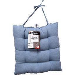 Galette de chaise 40x40 cm Blue Jean