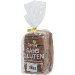 Pain aux céréales tranché sans gluten