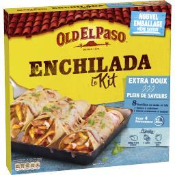 Old El Paso Kit pour Enchiladas extra doux sans piment