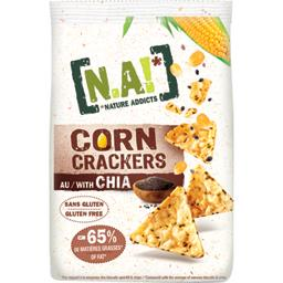 Corn crackers au chia BIO