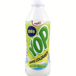 Yop - Yaourt à boire sucré aromatisé parfum citron