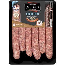 Saucisses pur porc au roquefort
