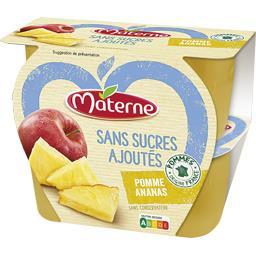 Sans Sucres Ajoutés - Spécialité pomme ananas