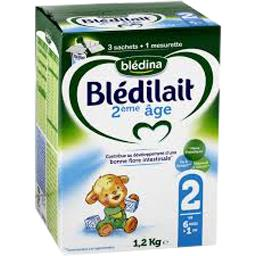 Blédilait - Lait en poudre 2, de 6 mois à 1 an