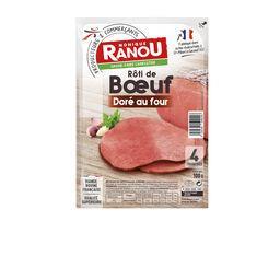 Rôti de bœuf doré au four