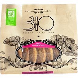 310 Bio Cookie aux canneberges et aux noix bio Le sachet de 150 gr