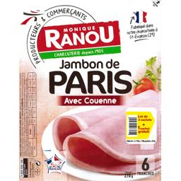 Jambon avec couenne