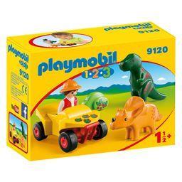 Explorateur et dinosaures 1 1/2+