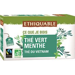 Thé vert du Vietnam menthe BIO